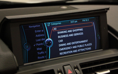 BMW iDrive System To Support Touchscreen Technology