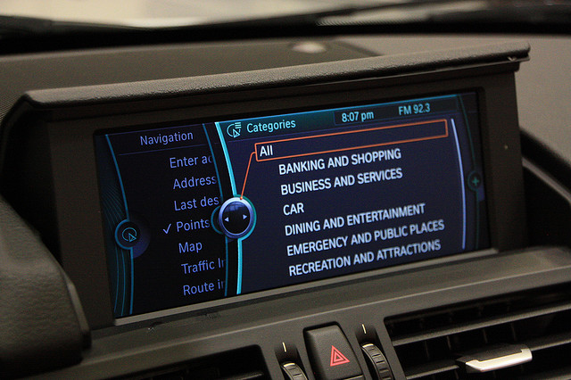Bmw Idrive System To Support Touchscreen Technology En Touch